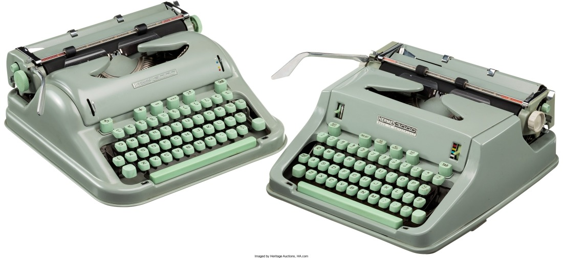 larry-mcmurtry-pair-of-hermes-3000-typewriters-circa-1963-1970