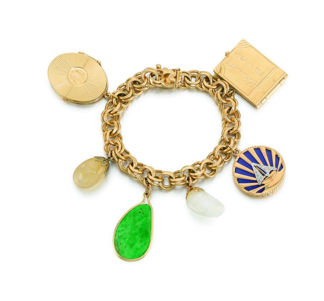 Lot 315 Vivien's Charm Bracelet