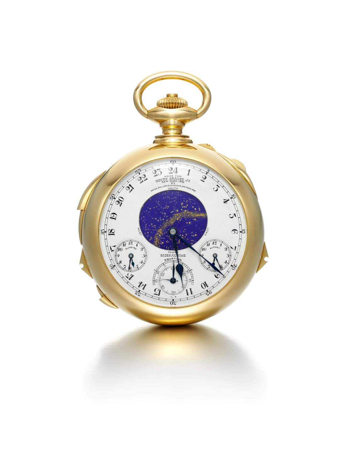 The Henry Graves Supercomplication - Siderial Time dial