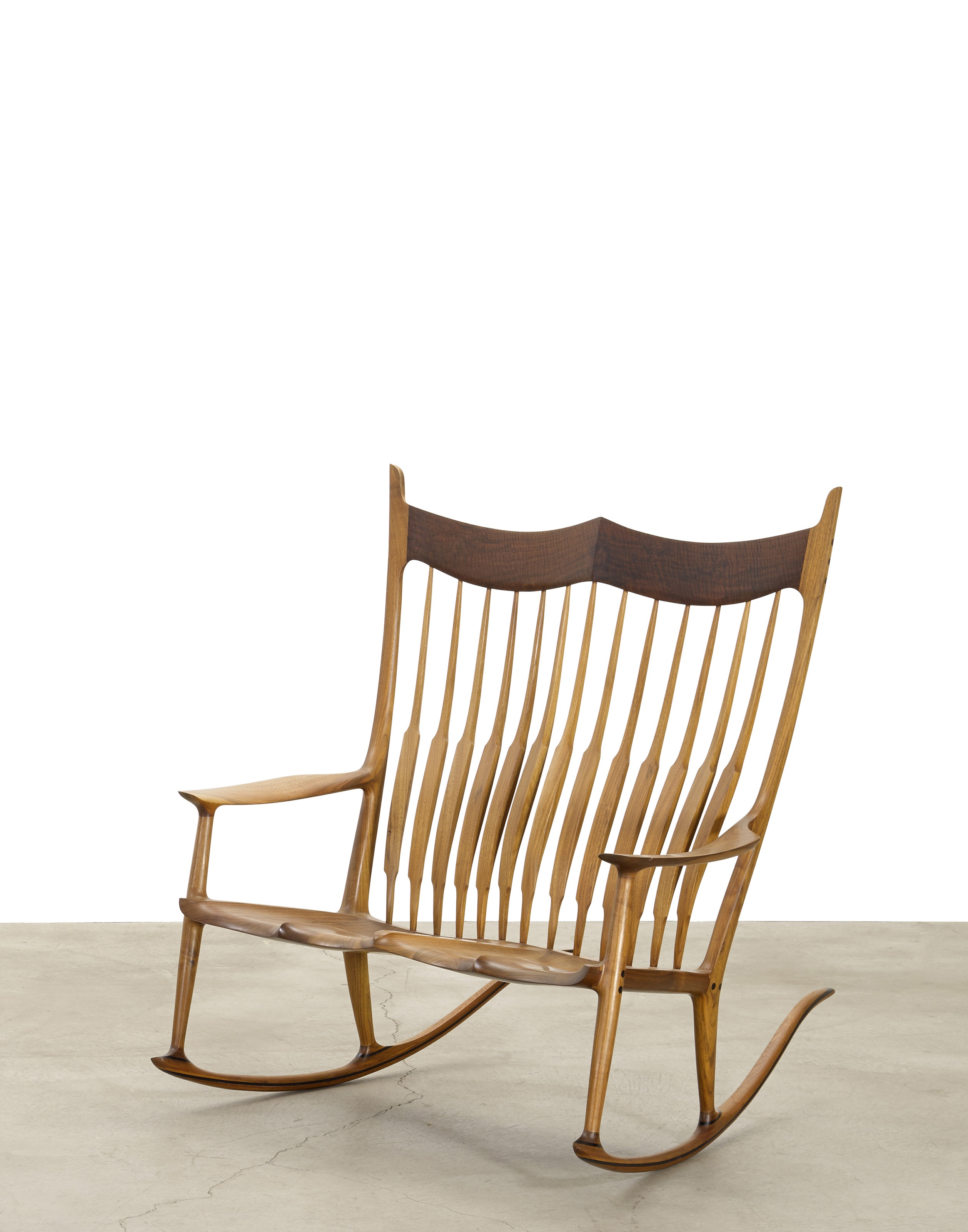 Beau Update: The Sam Maloof Double Rocker Sold For $35,000.