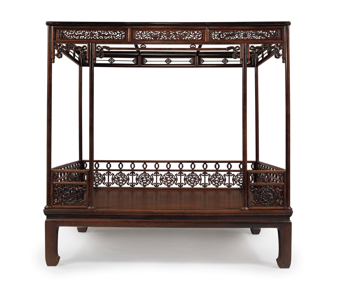 huanghuali six poster canopy bed
