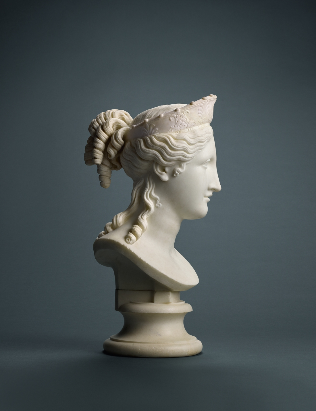 Canova, The Bust of Peace (side)