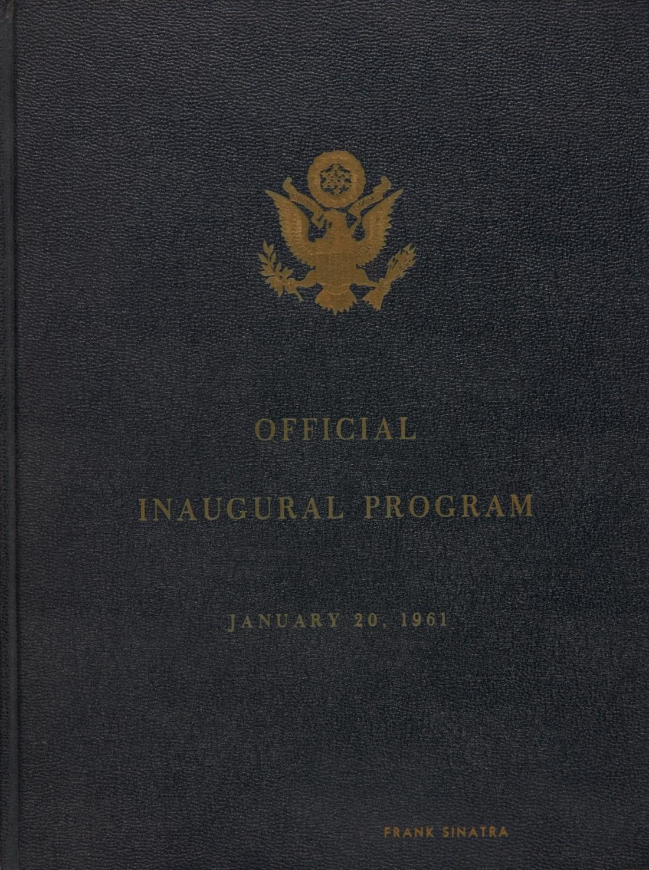 Kennedy Inaugural Program